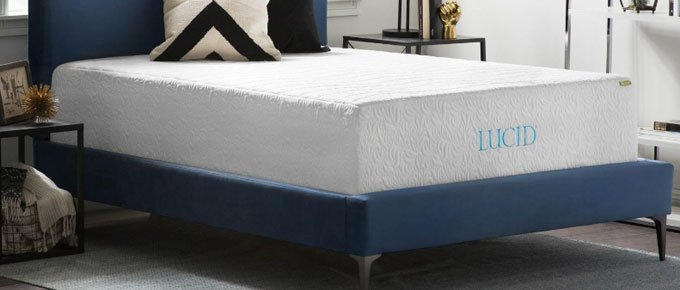LUCID - Best Memory Foam Mattress