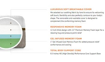 Live and Sleep Resort - Best Mattress For Back Pain
